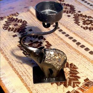 Z Gallerie Elephant Candle holder